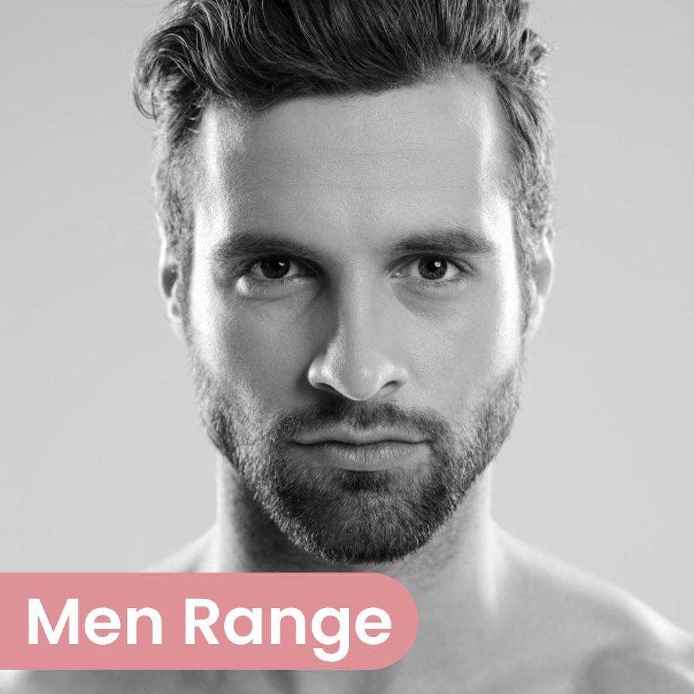 Cosmetify: Third party manufacturing men range
