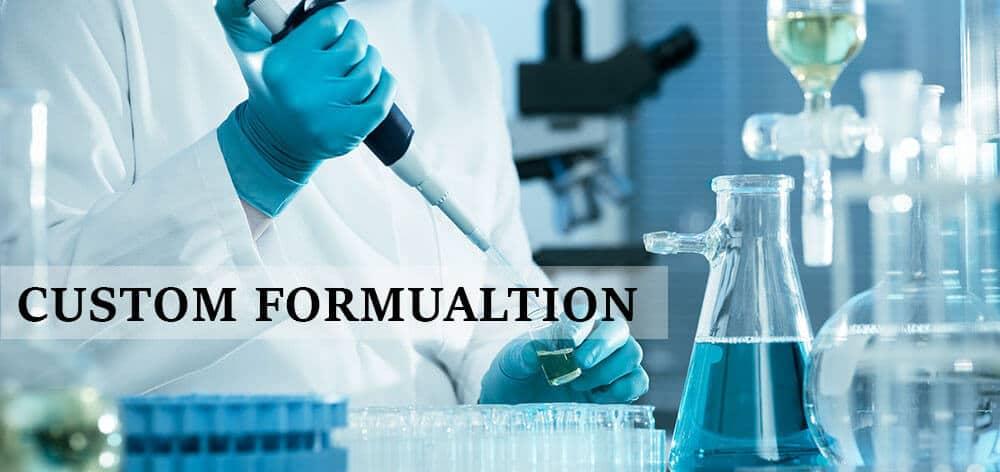 cosmetic custom formulation